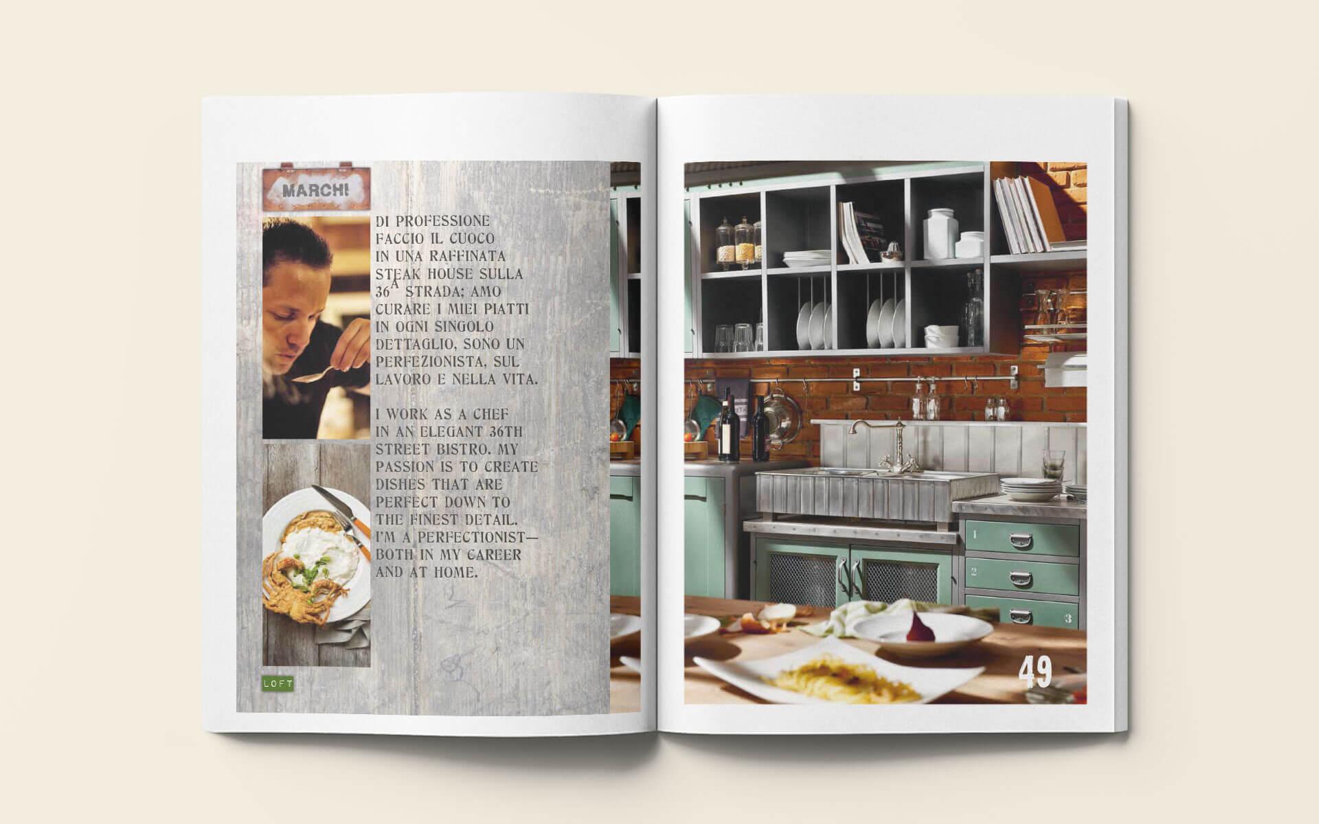 Catalogo Loft - Marchi Cucine Made in Italy